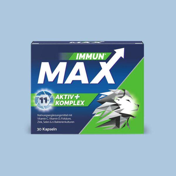 Eine Packung ImmunMax 30