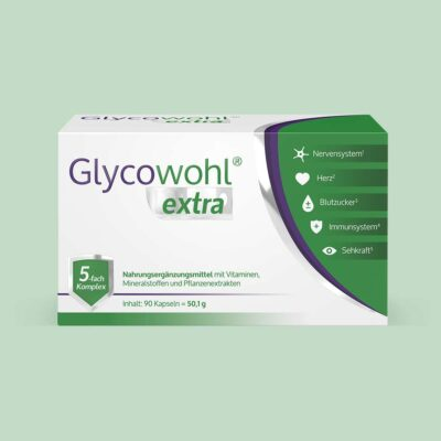 Eine Packung Glycowohl extra 90